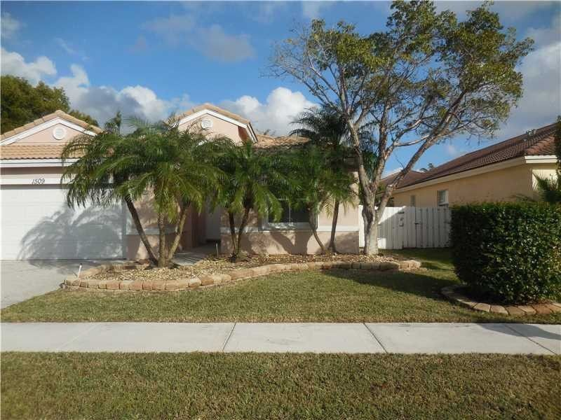 1509 Sw 187th Ave, Pembroke Pines, FL 33029