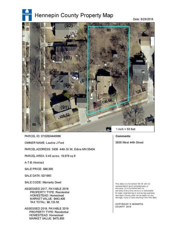 3936 W 44th St, Edina, MN 55424