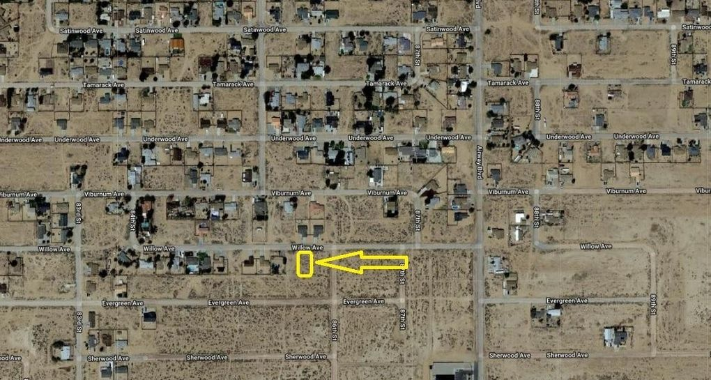 Willow Ave, California City, CA 93505