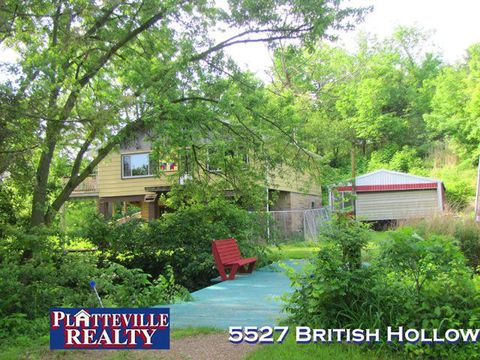 Photo of 5527 British Hollow Rd, Potosi, WI 53820