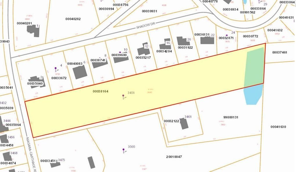 Niagara County Property Tax Map