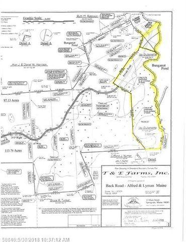 Lyman Maine Map.Map 2 Roux Road Ext Lot 67 Lyman Me 04002 Realtor Com