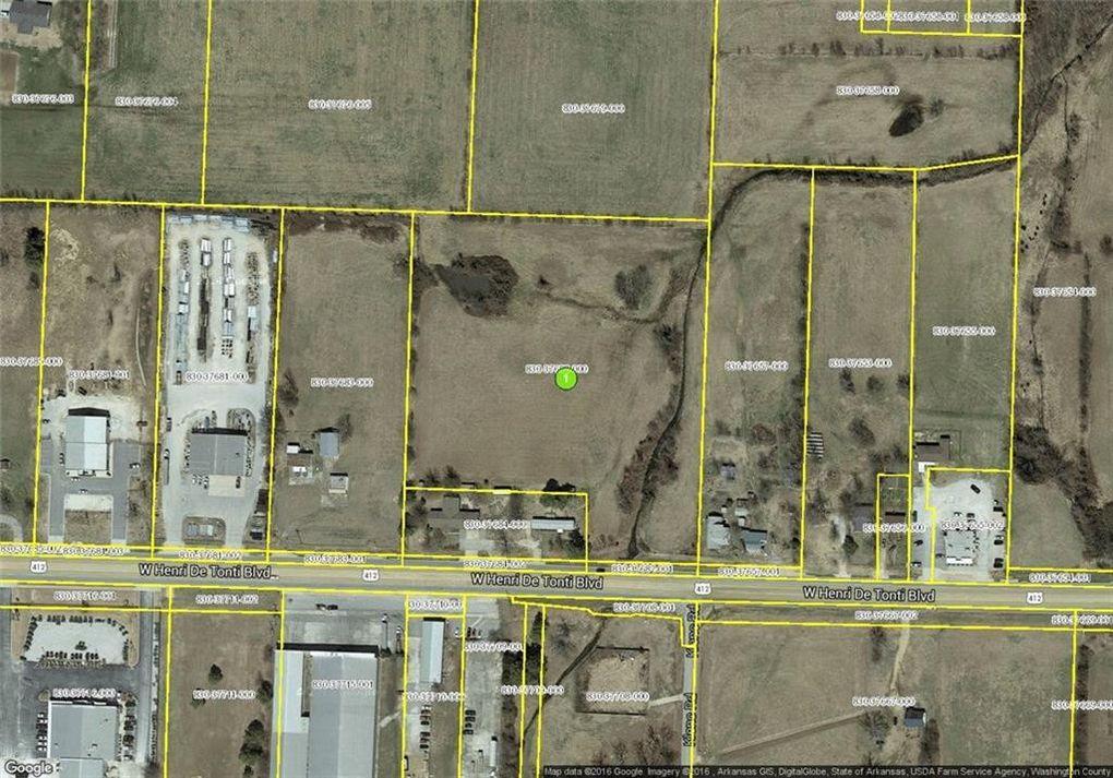 Tontitown Arkansas Map.6 66 Ac W Henri De Tonti Blvd Tontitown Ar 72762 Land For Sale