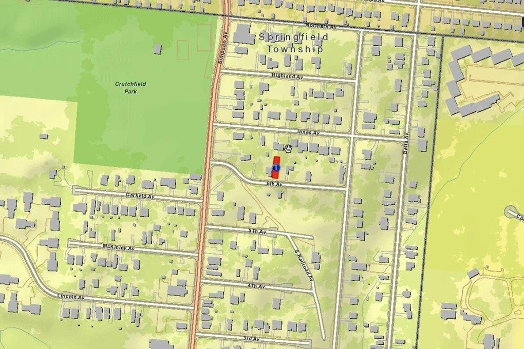 Springfield Township Ohio Map.2042 Sixth Ave Springfield Township Oh 45224 Land For Sale And