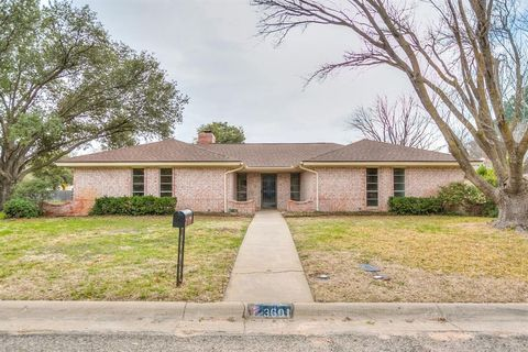 3601 Green Ridge Dr, San Angelo, TX 76904