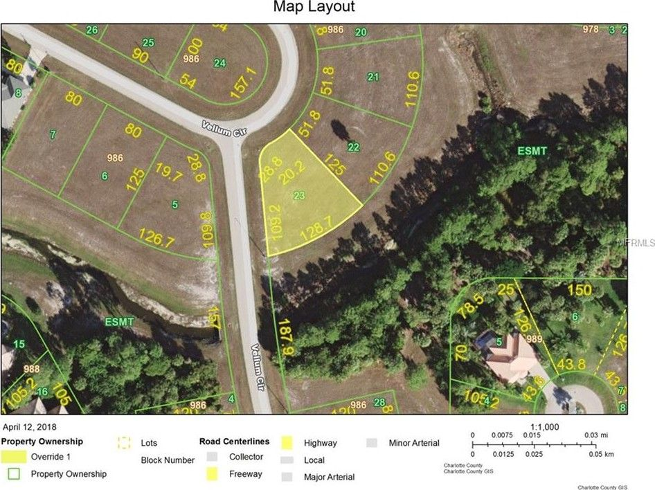 Vellum Cir Punta Gorda FL Land For Sale and Real