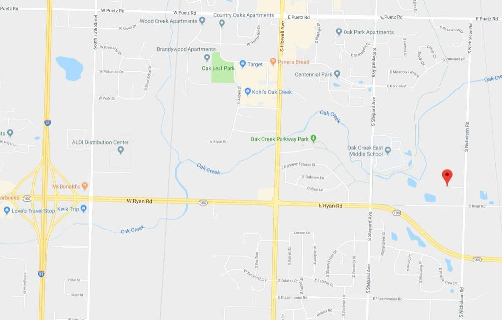 Maple View Dr Lot 5 Oak Creek Wi 53154 Land For Sale And Real
