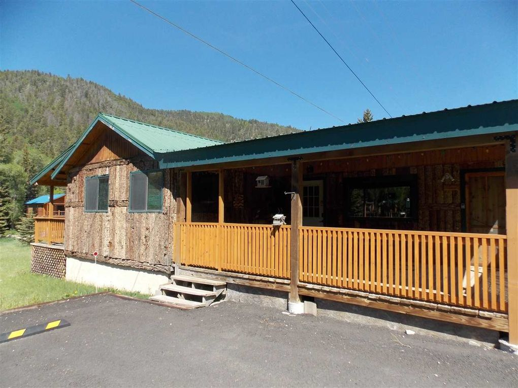 red cabins news lodge lodging mountain hello world at river shadows nm