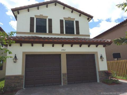 Photo of 2402 Ne 1st St, Homestead, FL 33033