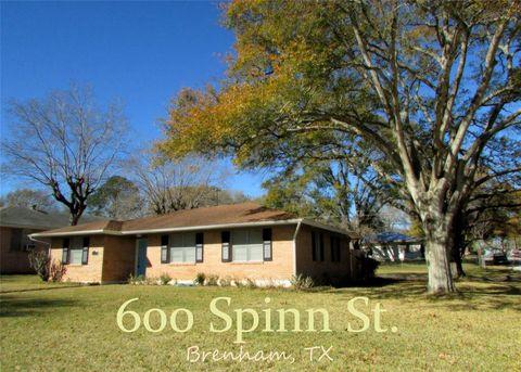 Photo of 600 Spinn St, Brenham, TX 77833