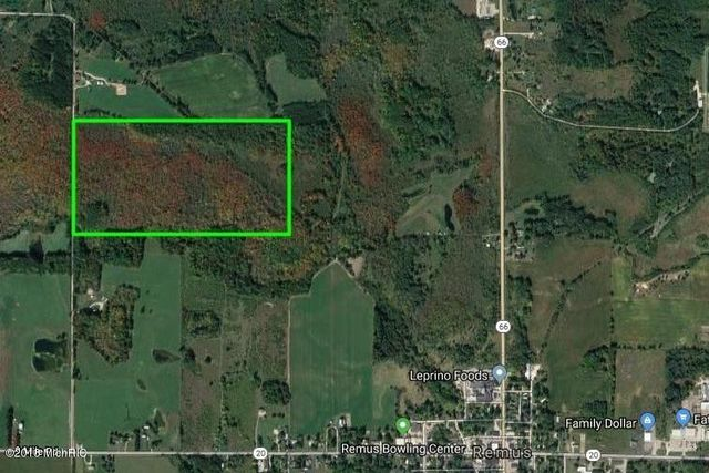 Remus Michigan Map.40th Ave Remus Mi 49340 Land For Sale And Real Estate Listing