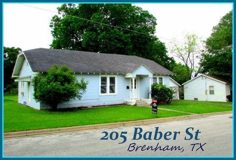 205 Baber St, Brenham, TX 77833