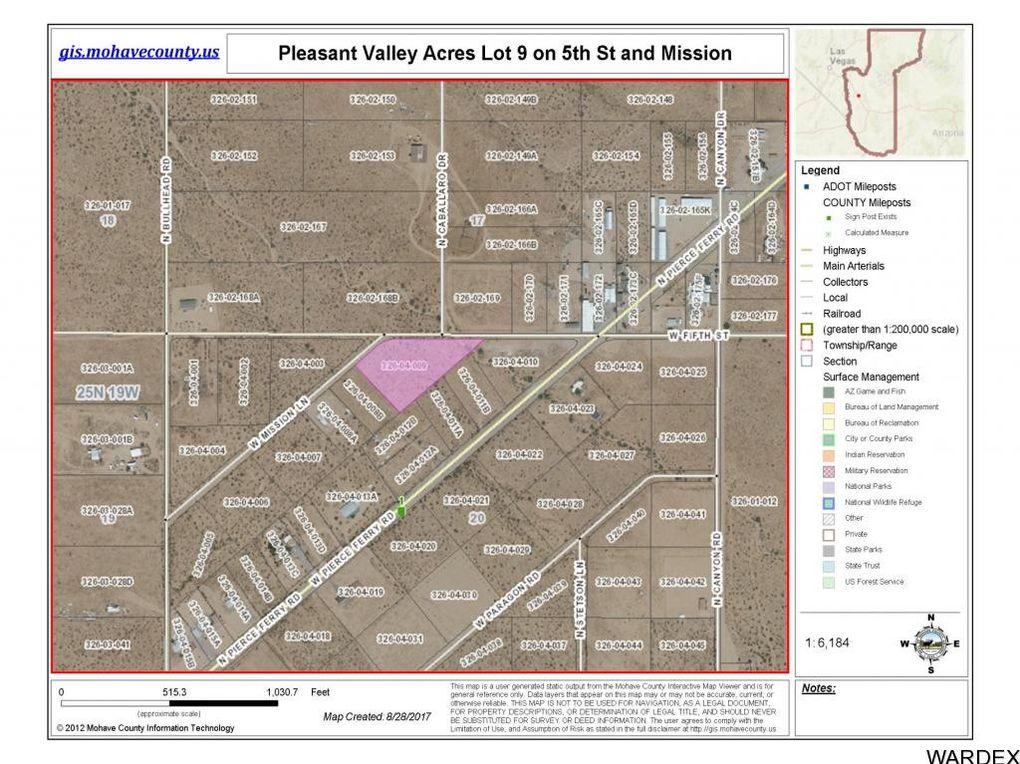 Dolan Springs Arizona Map.5th Lot 9 Dolan Springs Az 86441 Realtor Com