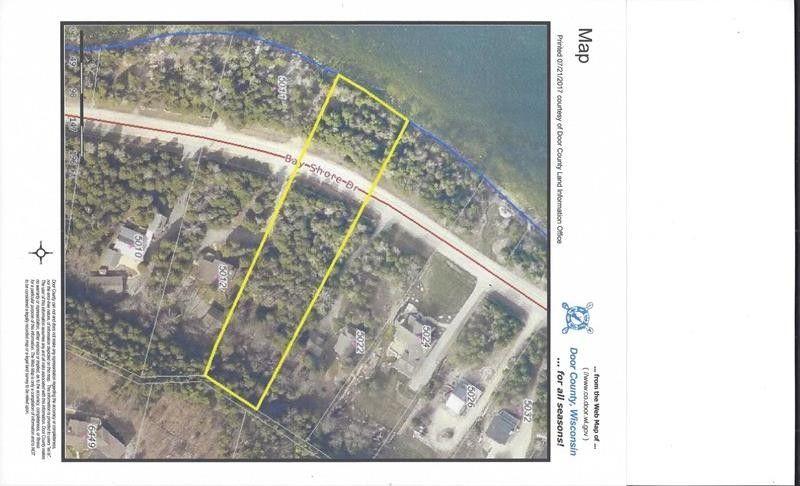Bay S Dr Lot 7, Sturgeon Bay, WI 54235 - realtor.com® Door County Web Map on