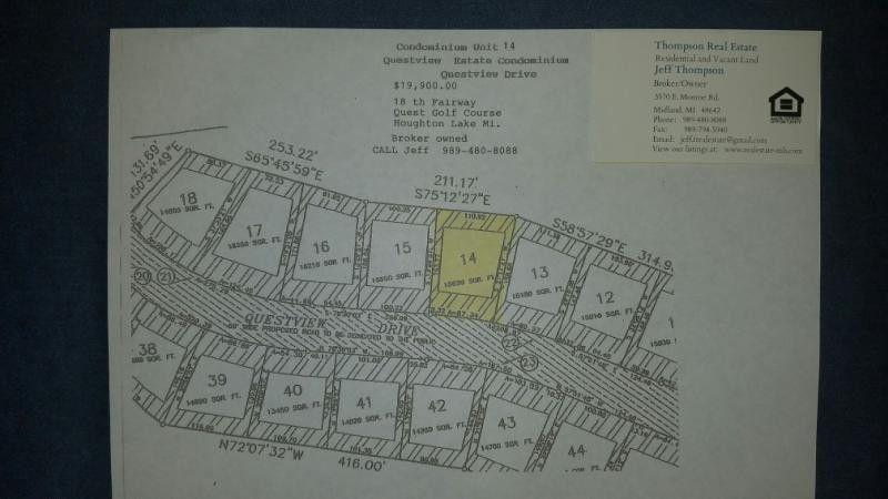 Questview Dr Lot 14, Houghton Lake, MI 48629