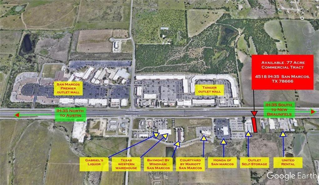 4518 S Interstate 35, San Marcos, TX 78666 San Marcos To Austin Map on map austin houston, map austin texas, map austin round rock,