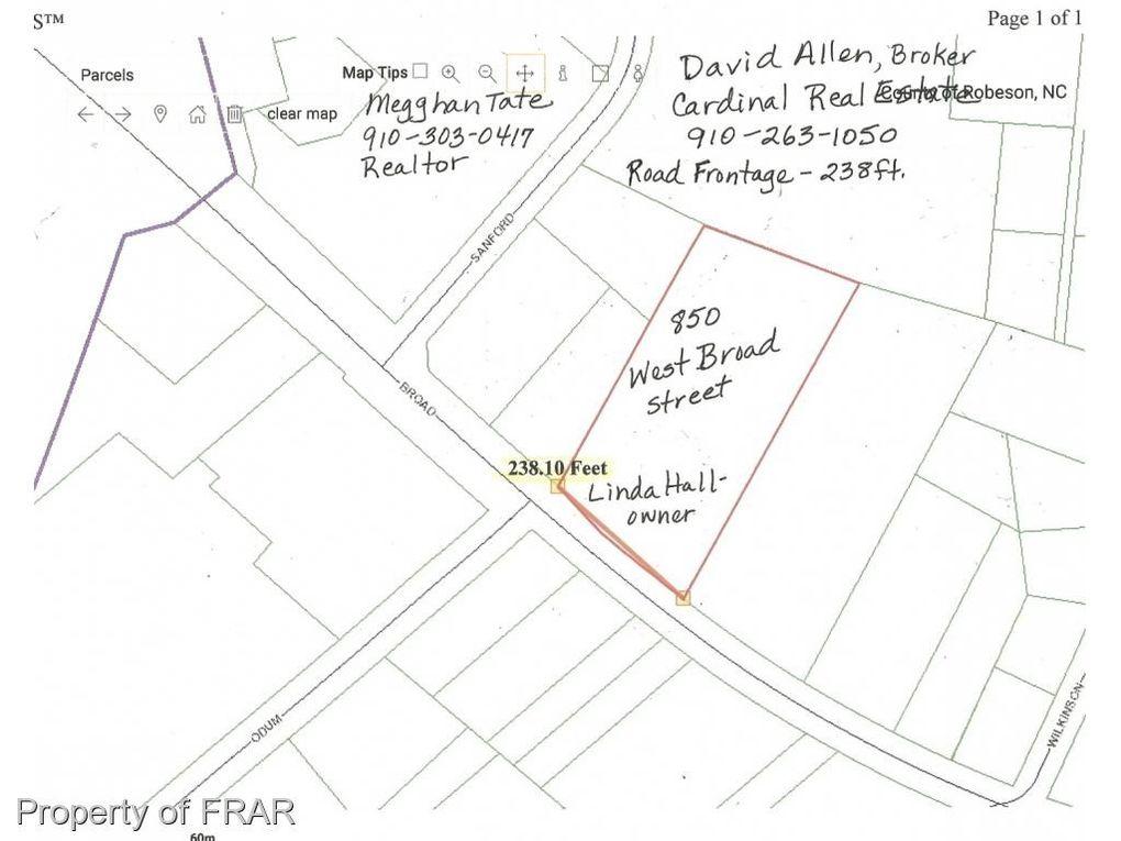 St Paul Nc Map.850 W Broad St Saint Pauls Nc 28384 Realtor Com