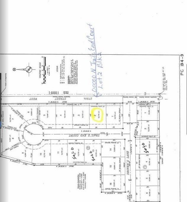 Blk 2 N Trails End Ct Unit Drovers 1st Add Xing Lot 2 Mount Hope, KS 67108
