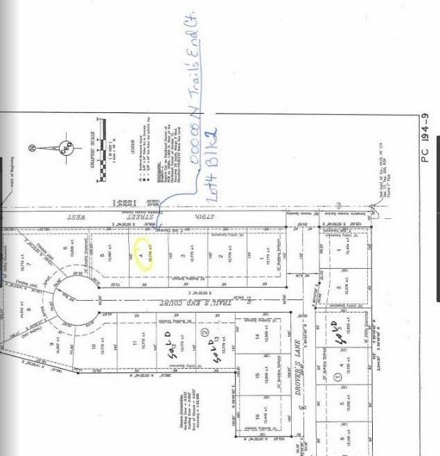 Blk 2 N Trails End Ct Unit Drovers 1st Add Xing Lot 4 Mount Hope, KS 67108