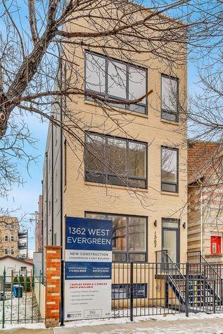 1362 W Evergreen Ave Unit 1, Chicago, IL 60642