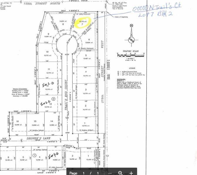 Blk 2 W Drovers Ln Unit Drovers 1st Add Xing Lot 7 Mount Hope, KS 67108