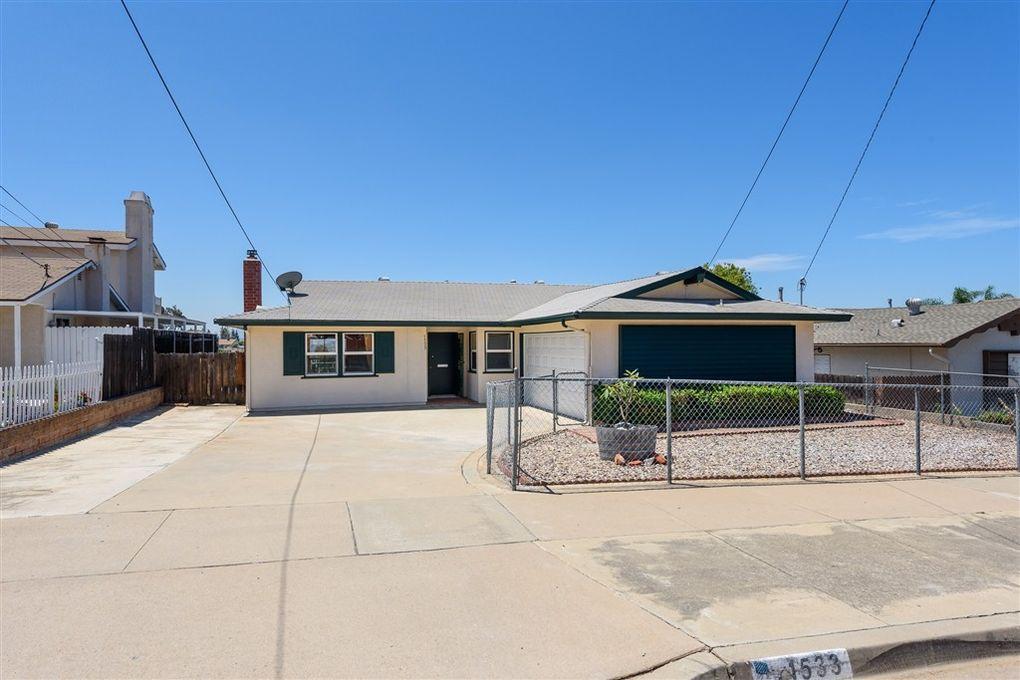 1533 Lily Ave El Cajon, CA 92021