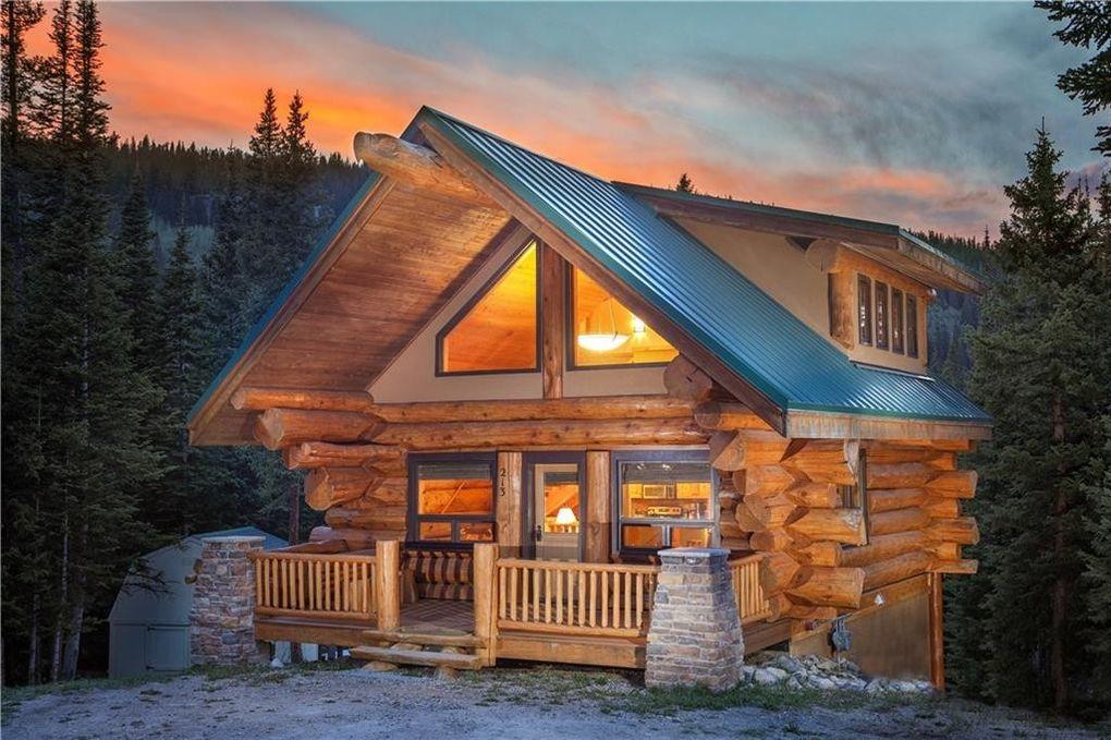 cabin breckenridge rustic moose cabins exterior colorado ridge home log rentals