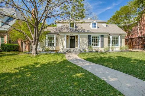 Photo Of 3700 Bryn Mawr Dr University Park Tx 75225 House For Rent
