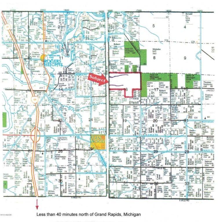 Stanwood Michigan Map.9700 180th Ave Stanwood Mi 49346 Realtor Com