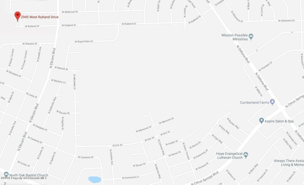 2945 W Rutland Dr Citrus Springs Fl 34433 Land For Sale And Real