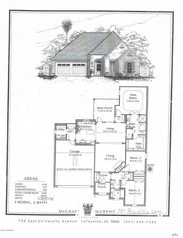 Wonderful house plans lafayette la pictures exterior for House plans lafayette la