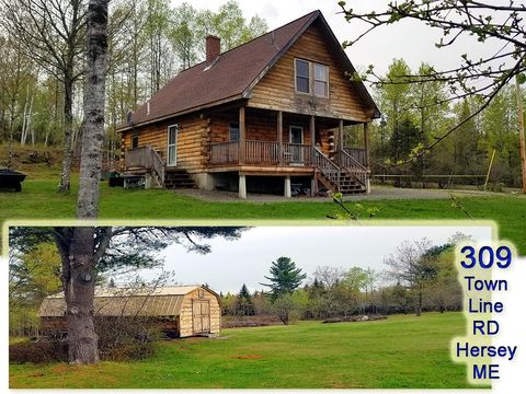 Photo of 309 Townline Rd, Hersey, ME 04780