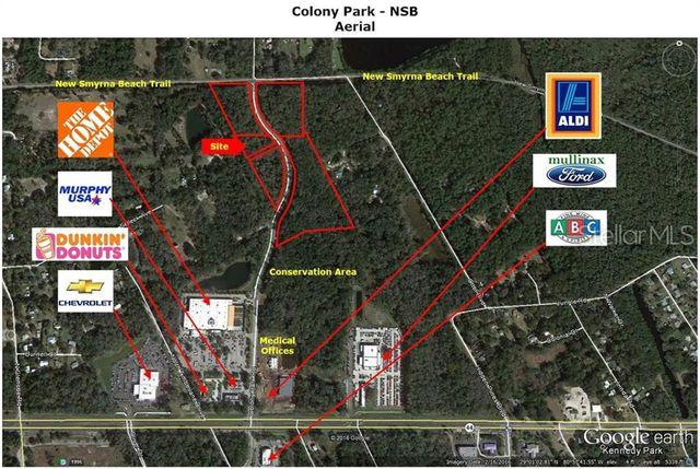 Mullinax Ford Nsb >> Colony Park Rd New Smyrna Beach Fl 32168