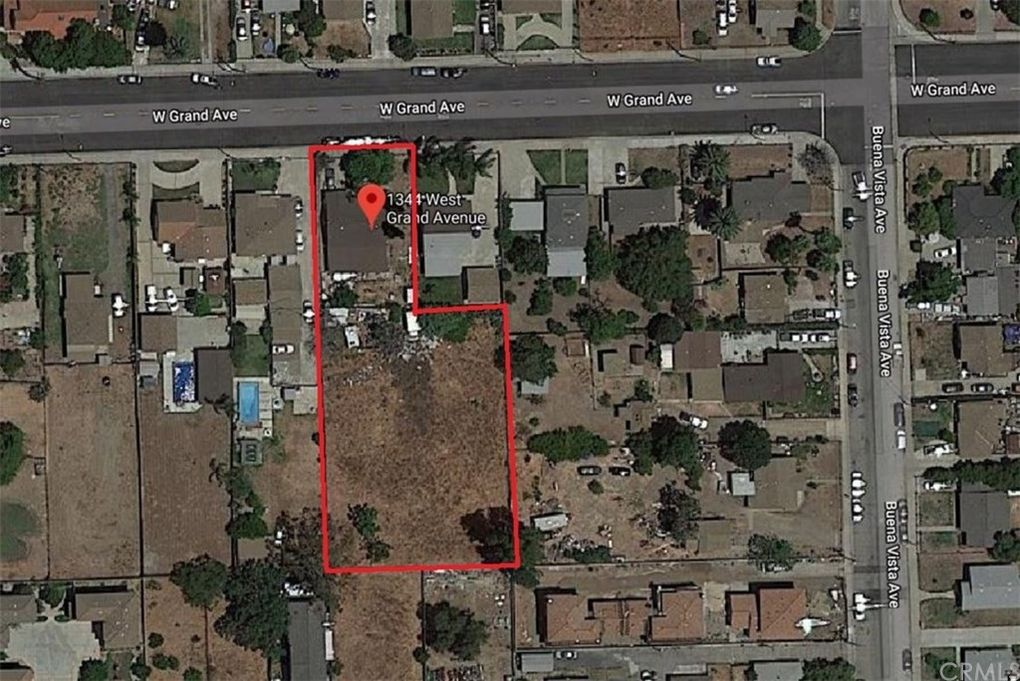 1344 W Grand Ave, Pomona, CA 91766 - Land For Sale and Real Estate City Of Pomona Zoning Map on