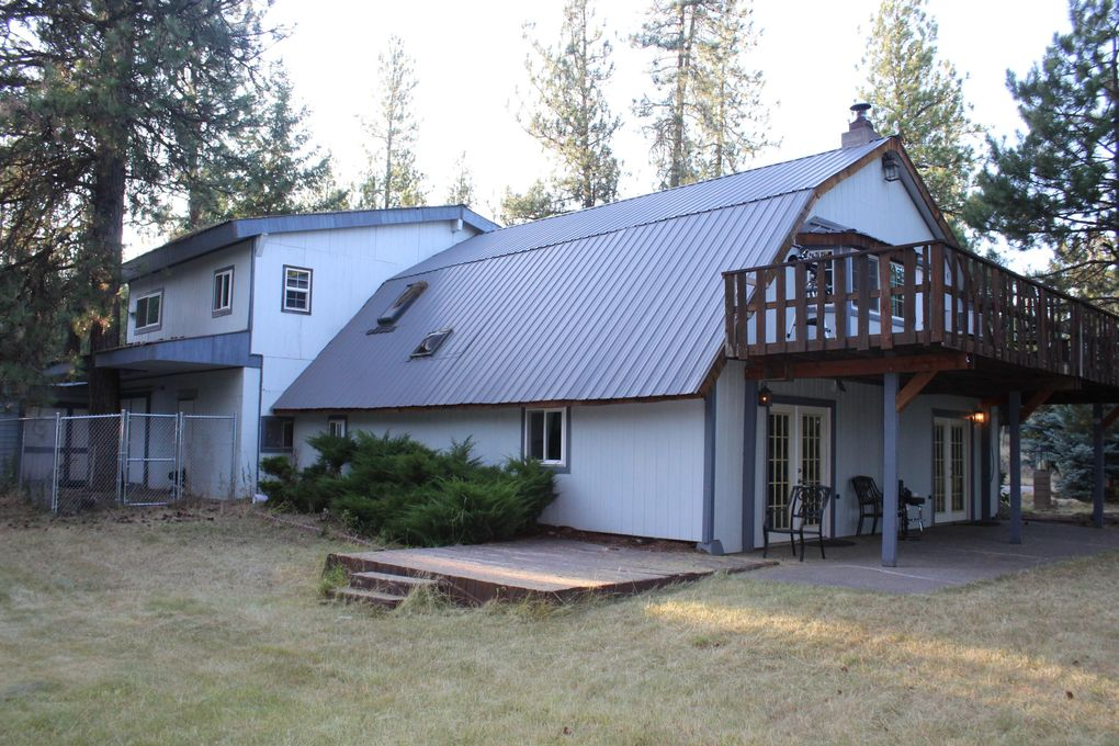 8599 N Rock Pillar Rd, Hauser, ID 83854 Mobile Home Exterior Improvements Rock Pillars on