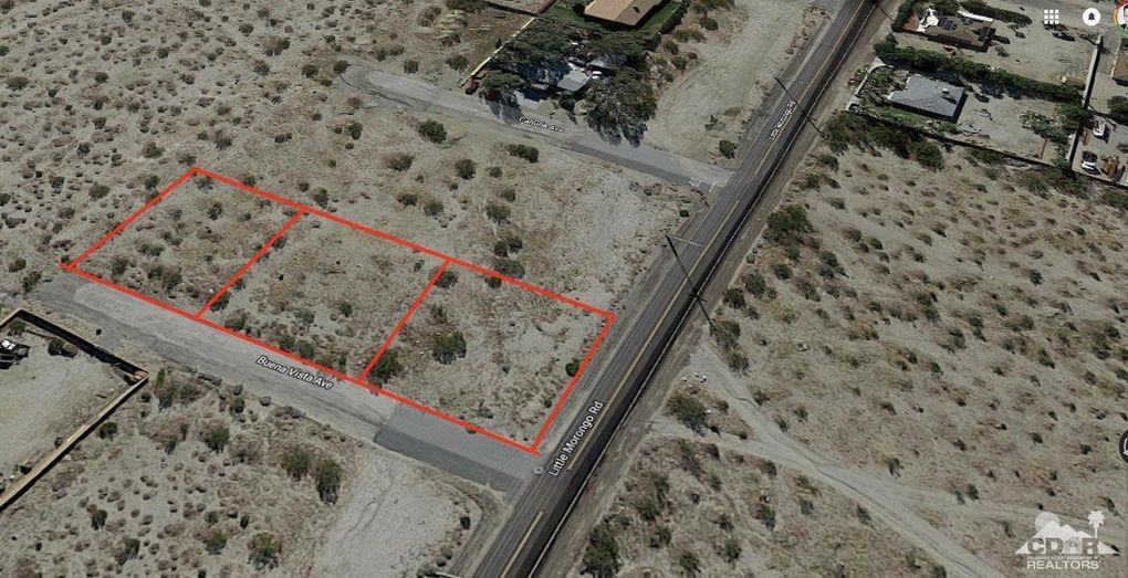3 Lots Little Morongo, Desert Hot Springs, CA 92241
