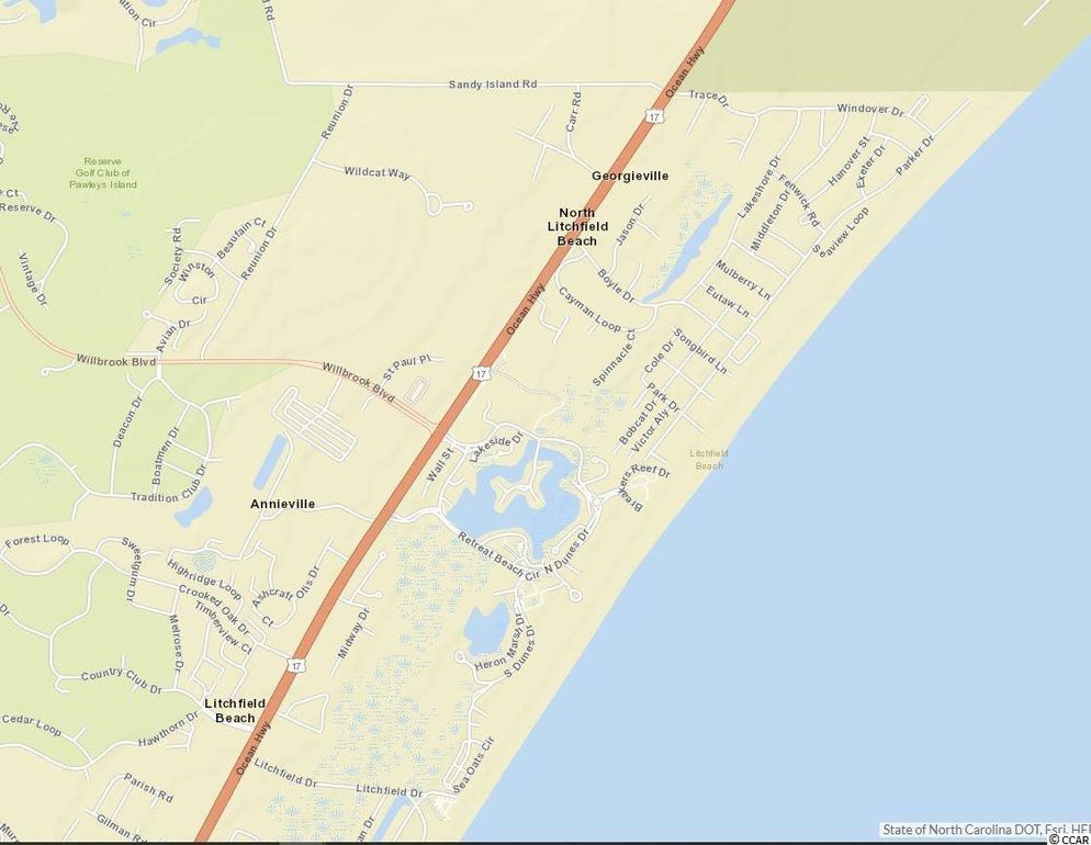 Pawleys Island South Carolina Map.Trace Dr Lot 140 Pawleys Island Sc 29585 Land For Sale And Real