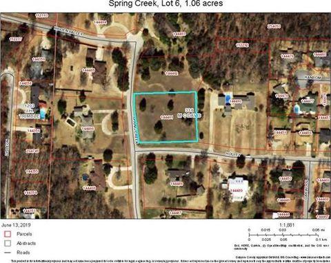 Photo of Spring Creek Dr Lot 6, Denison, TX 75020