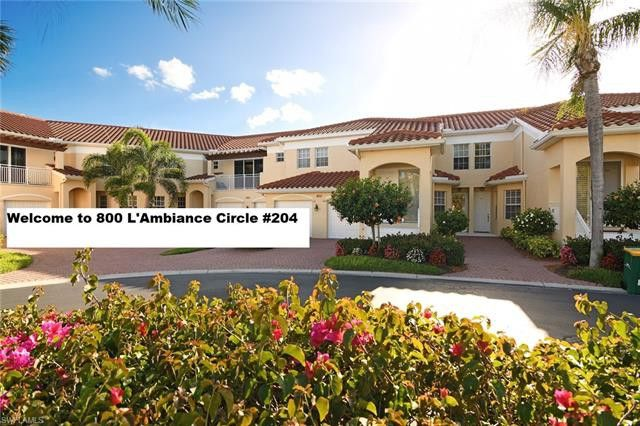 800 Lambiance Cir Unit 8-204, Naples, FL 34108