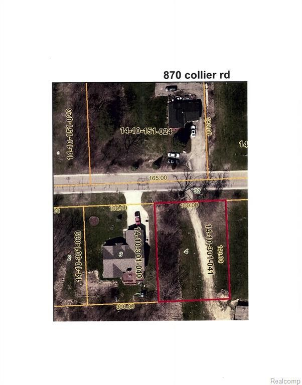 Collier, Pontiac, MI 48340