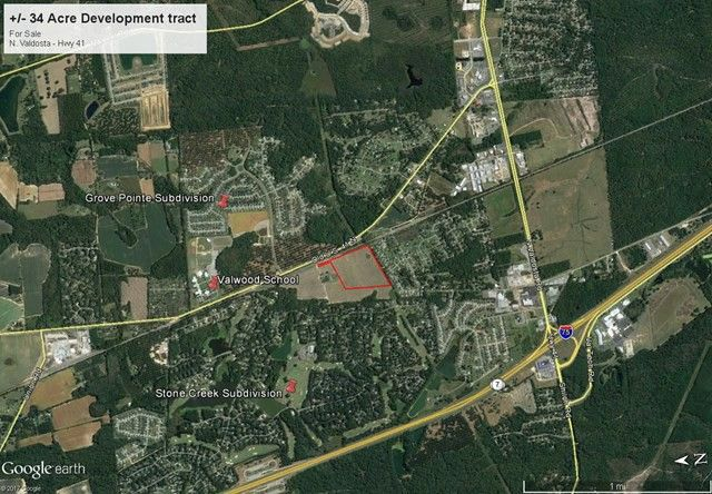 Map Of Highway 41 In Georgia.4185 Old Highway 41 N Valdosta Ga 31602 Land For Sale And Real