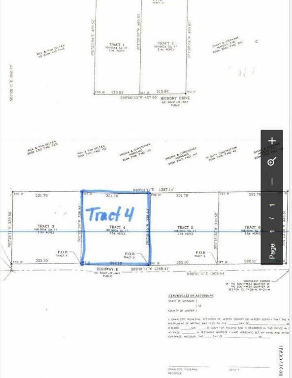 Tract 4 Hickory Dr, Carthage, MO 64836
