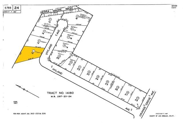 1605 Hyland Ave Lot 12 Arcadia, CA 91006