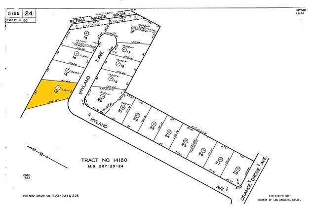 1605 Hyland Ave Lot 12 Arcadia, CA 91006