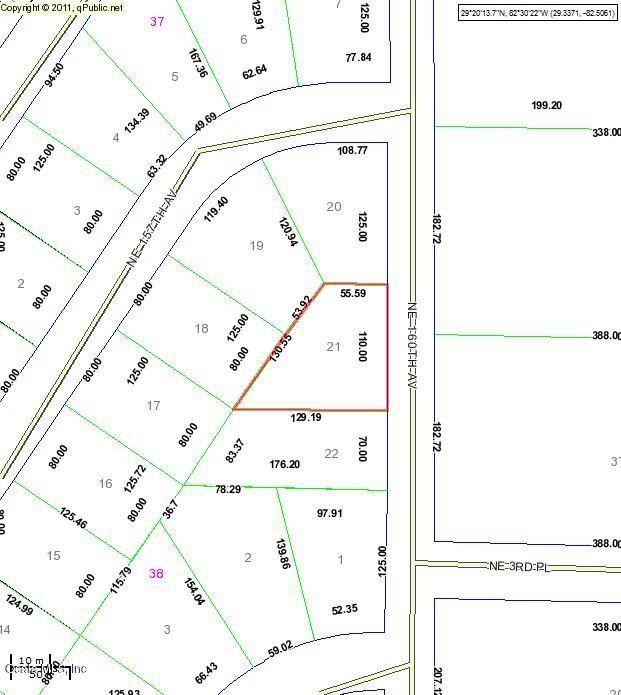 Williston Florida Map.Ne 160th Ave Williston Fl 32696 Realtor Com