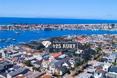 125 Ruby Ave, Newport Beach, CA 92662