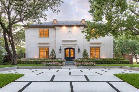 Highland Park, TX Real Estate - Highland Park Homes for Sale
