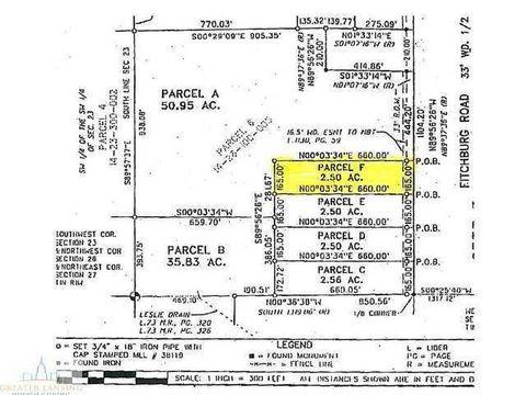 Fitchburg Rd, Leslie, MI 49251