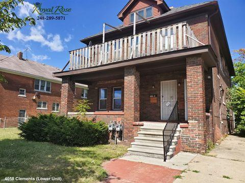 Photo of 4058 Clements St, Detroit, MI 48238