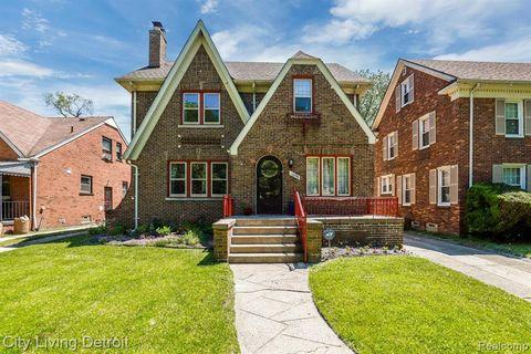 Photo of 16596 Rosemont Ave, Detroit, MI 48219